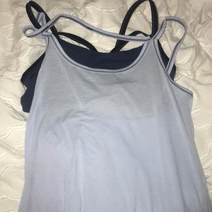 athleta tank top with built in sports bra!
